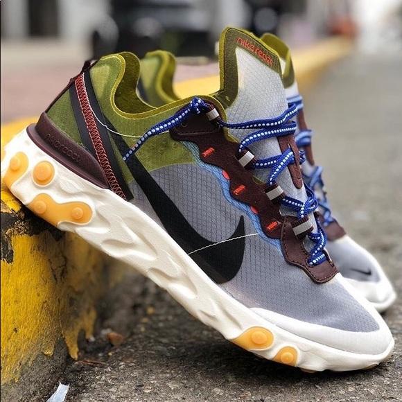 Preferencia asistencia Joseph Banks  Nike Shoes | Nike React Element 87 Moss | Poshmark